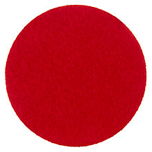 Buy House by John Lewis Felt Coaster, Red Online at johnlewis.com