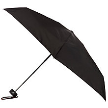 Buy Totes Miniflat 5-Section Thin Umbrella, Black Online at johnlewis.com