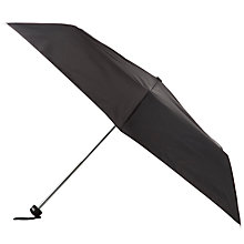 Buy Totes Supermini Umbrella, Black Online at johnlewis.com
