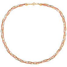 Buy Susan Caplan for John Lewis 1990s Three Chain Necklace, Multi Online at johnlewis.com