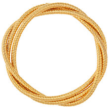 Buy Susan Caplan for John Lewis 1980s Twisted Bracelet, Gold Online at johnlewis.com
