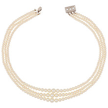 Buy Susan Caplan Vintage 1980s Faux Pearl Necklace Online at johnlewis.com
