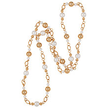 Buy Susan Caplan for John Lewis 1980s Faux Pearl Bead Necklace Online at johnlewis.com