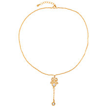 Buy Susan Caplan for John Lewis 1990s Edwardian Style Pendant, Gold Online at johnlewis.com