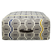 Buy John Lewis Zeometric Pouffe Online at johnlewis.com