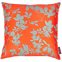 Buy Clarissa Hulse Virginia Creeper Cushion, Red Online at johnlewis.com