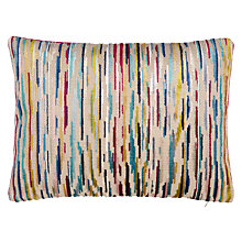 Buy Harlequin Nuru Cushion, Aqua / Magenta Online at johnlewis.com