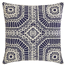 Buy Harlequin Macrame Cushion Online at johnlewis.com