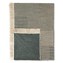 Buy John Lewis Kai Throw, Charcoal Online at johnlewis.com