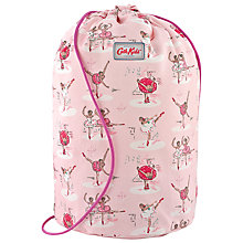 Buy Cath Kidston Drawstring Ballerina Barrel Bag, Pink Online at johnlewis.com