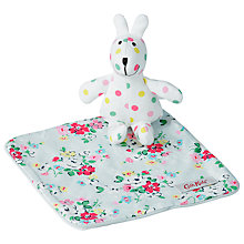 Buy Cath Kidston Baby Bunny Comforter in Clifton Rose Box Online at johnlewis.com