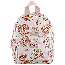 Buy Cath Kidston Cranham Light Mini Rucksack, Pink Online at johnlewis.com