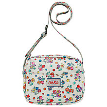 Buy Cath Kidston Kids' Spotted Floral Handbag, White Online at johnlewis.com