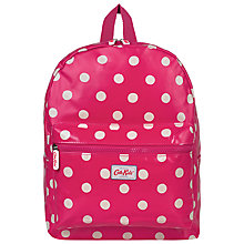 Buy Cath Kidston Children's Button Padded Rucksack, Pink Online at johnlewis.com