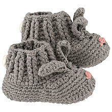 Buy Cath Kidston Baby Bunny Knitted Booties Online at johnlewis.com