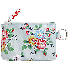 Buy Cath Kidston Pocket Purse and Keyring, Blue Online at johnlewis.com