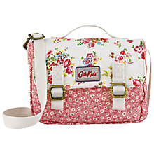 Buy Cath Kidston Children's Mini Cranham Satchel, Off White Online at johnlewis.com