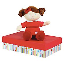 Buy Doudou et Compagnie Miss Framboise Doll Online at johnlewis.com