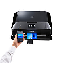 Buy Canon PIXMA MG7550 All-In-One Wireless Printer, Black Online at johnlewis.com