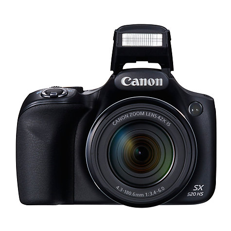 Canon PowerShot SX520 HS Bridge Camera  HD 1080p  16MP  42x Optical    Canon Hd Camera 1080p