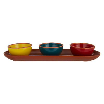 John Lewis Al Fresco Dip Bowls, Set of 3