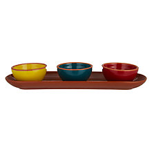 Buy John Lewis Al Fresco Dip Bowls, Set of 3 Online at johnlewis.com