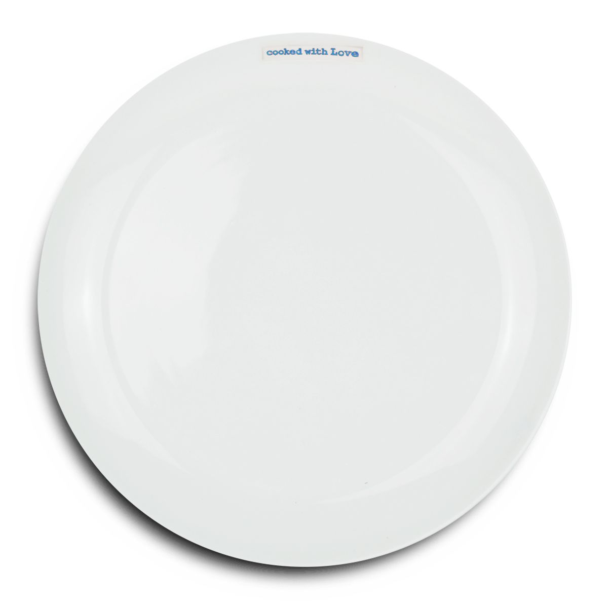 Keith Brymer Jones Keith Brymer Jones Word 'Cooked With Love' 25.6cm Dinner Plate