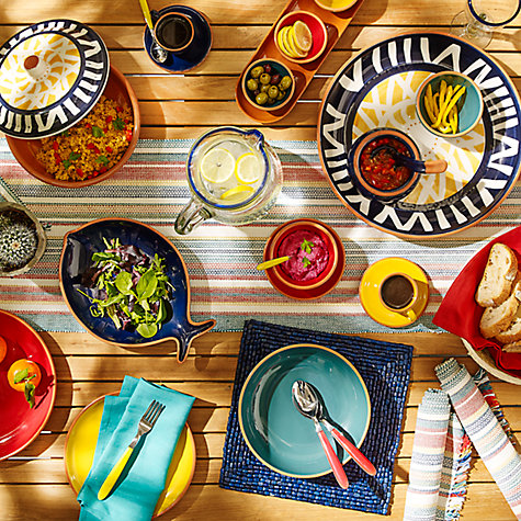 Buy John Lewis Alfresco Tableware Online at johnlewis.com