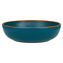 Buy John Lewis Al Fresco Pasta Bowl, Teal Online at johnlewis.com