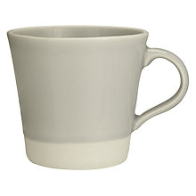 Buy John Lewis Croft Collection Amberley Mug, Natural Online at johnlewis.com