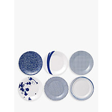 Buy Royal Doulton Pacific 23cm Side Plates, Set of 6 Online at johnlewis.com
