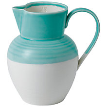 Buy Royal Doulton 1815 Jug, Medium, Aqua Online at johnlewis.com