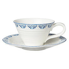 Buy Sophie Conran for Portmeirion Betty Tea Cup & Saucer Online at johnlewis.com