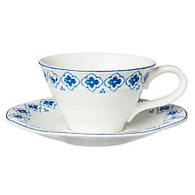 Buy Sophie Conran for Portmeirion Eliza Tea Cup & Saucer Online at johnlewis.com