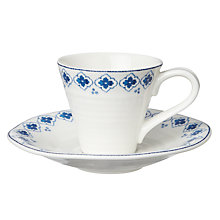 Buy Sophie Conran for Portmeirion Eliza Espresso Cup and Saucer Online at johnlewis.com