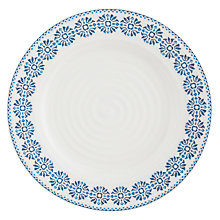 Buy Sophie Conran Florence Pattern Side Plate, White/Blue Online at johnlewis.com