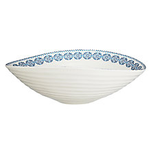 Buy Sophie Conran for Portmeirion Patterned Salad Bowl Online at johnlewis.com
