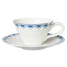 Buy Sophie Conran for Portmeirion Maud Tea Cup & Saucer Online at johnlewis.com