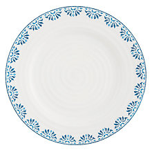 Buy Sophie Conran for Portmeirion Betty Pattern Side Plate, White/Blue Online at johnlewis.com