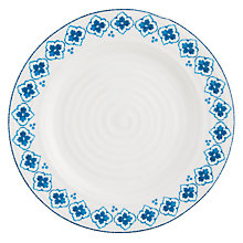 Buy Sophie Conran for Portmeirion Eliza Pattern Side Plate, White/Blue Online at johnlewis.com