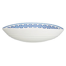 Buy Sophie Conran for Portmeirion Florence Pasta Bowl, White/Blue Online at johnlewis.com