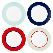 Buy House by John Lewis Studio Side Plates, Set of 4, Multi Online at johnlewis.com