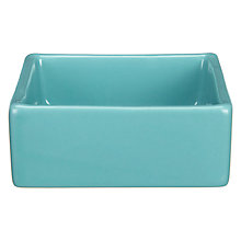 Buy John Lewis Miami Square Dip Bowl, Sea Breeze Online at johnlewis.com