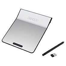 Buy Wacom Bamboo Pad Wireless Touchpad with Stylus Online at johnlewis.com