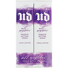 Buy Urban Decay All Nighter Double Dose Makeup Setting Spray Duo Online at johnlewis.com