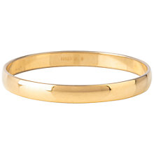 Buy Susan Caplan Vintage 1970s Monet Bangle, Gold Online at johnlewis.com