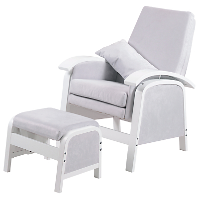 Kub Rosewell Glider Nursing Chair Grey The Roswell glider chair in a ...