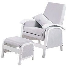 Buy Kub Rosewell Glider Nursing Chair, Grey Online at johnlewis.com