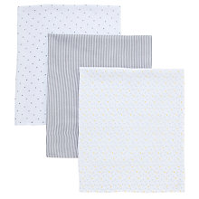 Buy John Lewis Baby's Extra Large Muslin Fabric Gift Set Online at johnlewis.com
