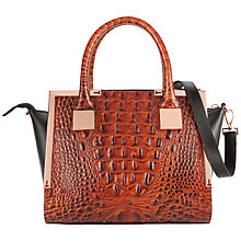 Buy Ted Baker Fayla Leather Mini Tote Bag Online at johnlewis.com